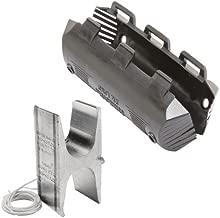 Burndy YHN500J1496 Hycrimp Stirrup Utilizing H-Framed Tap Connector with Tin-Plated Copper Bail, 4/0-500 Str. Al Run, 4/0-477 ACSR Run, 15.5