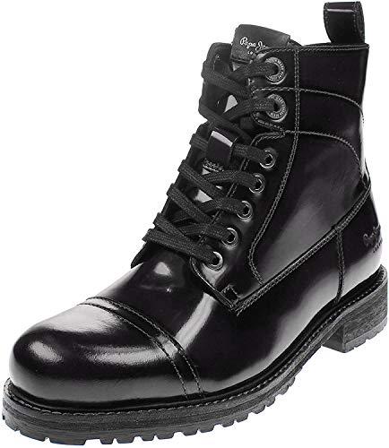 Pepe Jeans London Damen Melting BASS Desert Boots, Schwarz (Black 999), 40 EU
