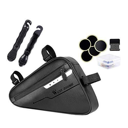 Obobb Multi-Function Repair Tools for Bike,Bike Repair Tool Kit Portable Bicycle Repair Bag Set Mountain Bike Accessories