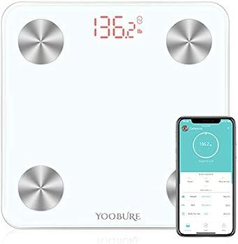 Yoobure Bluetooth Smart Digital Body Fat Scale