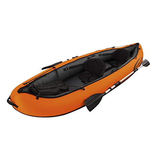 Bestway Hydro-Force Ventura 330 x 94 x 48 cm, kayak gonflable 2 places avec 2 pagaies en aluminium
