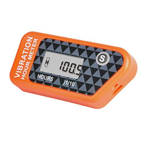Yooreal Contaore Wireless Alimentato a Batteria, Indicatore di Rilevamento Vibrazioni per Trattorino da...