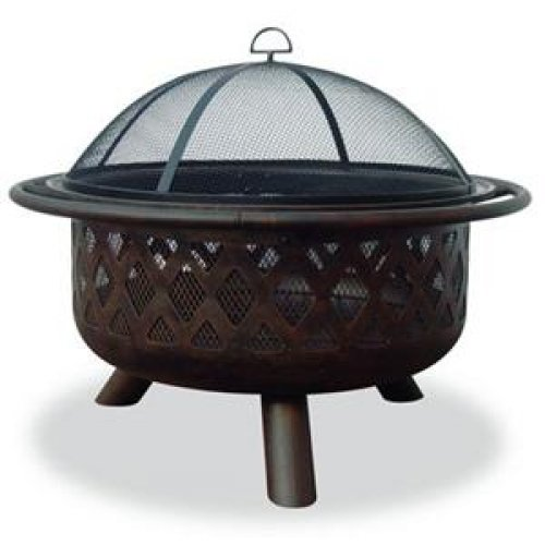 Best Prices! Blue Rhino 32 Outdoor Firepit Criss Crossweave WAD792SP