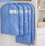 ZHYHAM 1 juego de cubierta de polvo de la chaqueta Oxford pan de la cubierta del polvo de la ropa a prueba de polvo del armario del hogar de