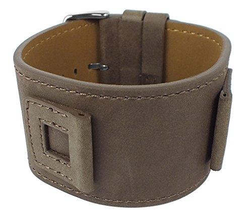 Bruno Banani Xilion Ersatzband Unterlageband Leder braun mit Naht BR20960 XI0 205 305