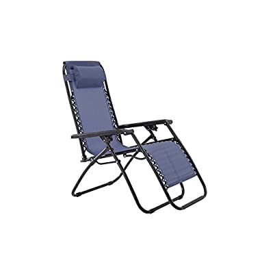 sunjoy Zero Gravity Chair-Blue