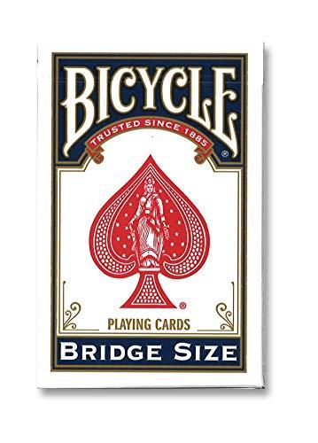 Bibycle 1004995 Rider Back Bicycle-Pokerkarten Standard Index, Rot oder Blau