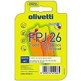 Olivetti Print cartidge JP150 cartucho de tinta Original Negro - Cartucho de tinta para impresoras (Original, Tinta a base de pigmentos, Negro, Impresión por inyección de tinta)