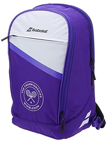 Babolat Backpack Club Wimbledon Mochila, Adultos Unisex, Blanc Violet MYS (Blanco), Talla Única