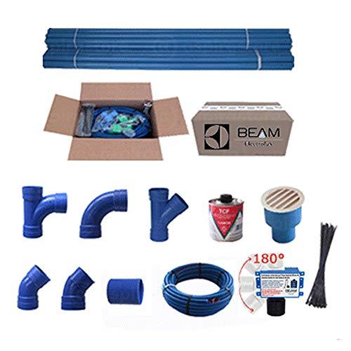 Kit predisposizione impianto aspirapolvere centralizzato (4 punti presa)