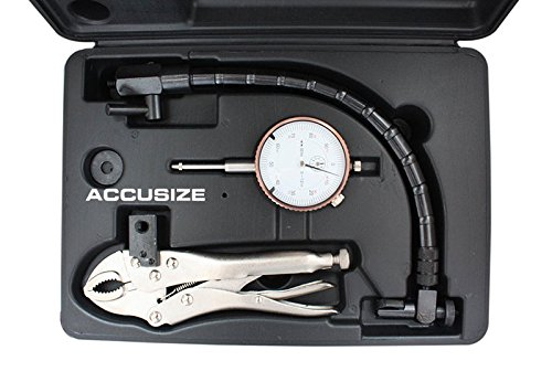 Accusize Industrial Tools Disc and Rotor/Ball Joint Gage Set, 0510-0917