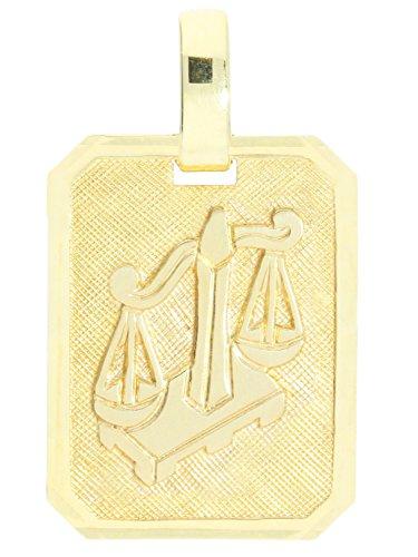 MyGold sterrenbeeld hanger (zonder ketting) geel goud 333 goud (8 karaat) matte glans 21mm x 12mm dierenriemteken horoscoop kettinghanger gouden hanger geschenk idee Gaudino MOD-04400