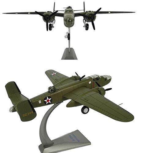 Aleación Bomber B-25 Mitchell Avión de la Fuerza Aérea Modelo de Juguete para Niños Colección de regalo 1/72