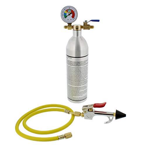 BISupply Air Conditioning Flush Kit – 150PSI AC Flush Canister and AC Flush Gun Kit, HVAC and Refrigerant Flush Kit