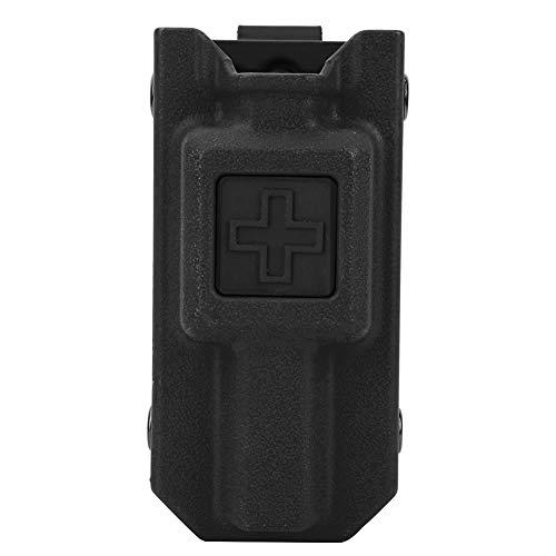OIHODFHB Caza al aire libre Militar Kit Bolsa de almacenamiento Caja Titular Caso para torniquete (negro)