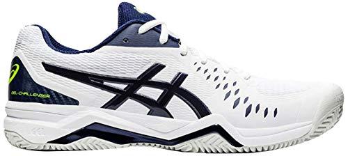 ASICS Gel-Challenger 12 Clay, Zapatillas de Tenis para Hombre, White Peacoat, 43.5 EU