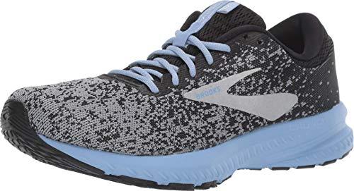 Brooks Womens Launch 6 Running Shoe - Black/Primer/Bel Air Blue - B - 7.0
