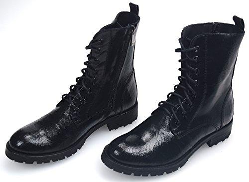 Pinko Vrouw Enkellaarzen Zwart Vintage Lederen Code. RADIATORE 1P20AM Y12F 40 Nero