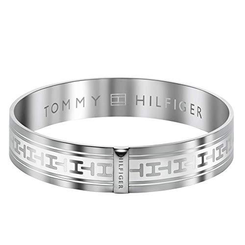 Tommy Hilfiger 2700020 - Pulsera de Mujer de Acero Inoxidable, 7 cm