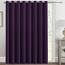 VERSAILTEX Premium Wider Noise Reducing Curtains For Patio Yard See On Amazon
