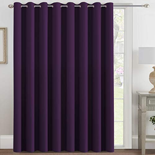 H.VERSAILTEX Blackout Patio Curtains 100 x 108 Inches for...