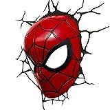 スパイダーマン グッズ ウォールライト LED 照明 壁ライト 3D 立体 マーベル アメコミ スーパーヒーロー インテリア デコレーション グッズ 飾り