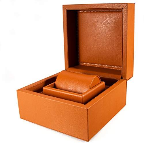 SHAMATE Reloj de las mujeres para la caja de reloj de madera interior exterior para hombre relojes cajas hombres reloj de pulsera cajas de madera