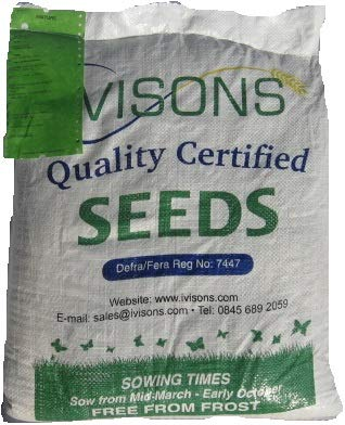 Ivisons 2 Kg Shaded Area Lawn Grass Seed