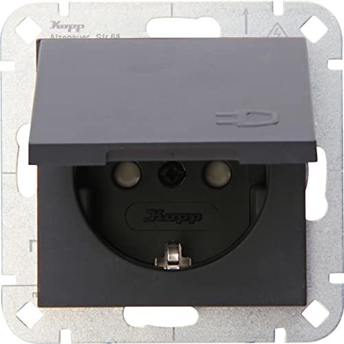 Kopp 940115001 Enchufe con protección de Contacto
