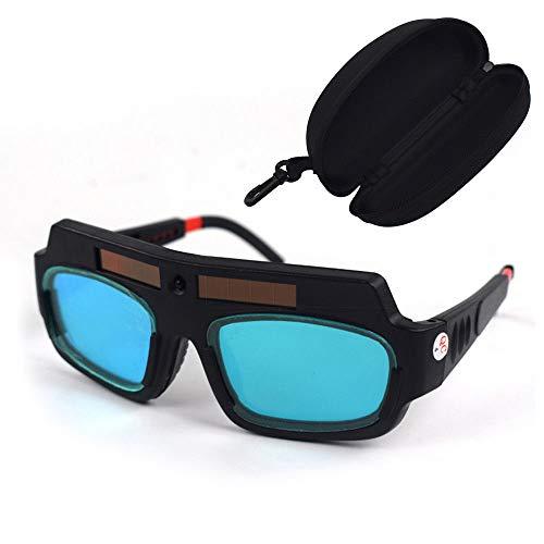 Gafas de soldadura, gafas de protección, protección solar para los ojos, gafas de soldadura con oscurecimiento automático