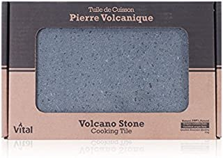 Vital VGL1000-01 Volcano Stone Cooking Tile, 8
