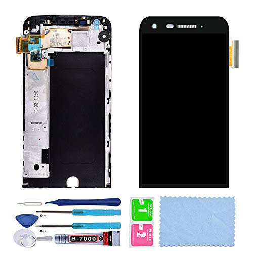 XR LCD Display Touch Screen Digitizer Assembly for LG G5 with Frame + Tools + Tempered Glass Screen Protector