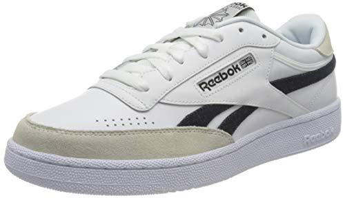 Reebok Club C Revenge, Sneaker Uomo, Ftwwht Cblack Ftwwht, 42 EU