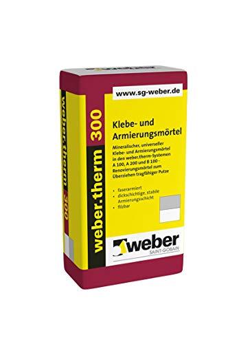 Weber.therm 300 Klebe- und Armierungsmörtel Weiß Klebemörtel Armierungsmörtel Armierungskleber Fassadenkleber Dämmstoffkleber