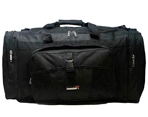 foolsGold Sportstasche 60cm, 50 Liter Holdall (Schwarz)