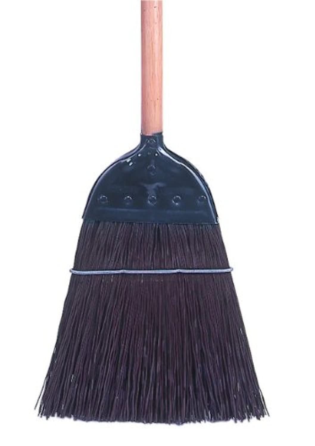 Weiler 44007 Palmyra Fiber Upright and Whisk Cap Broom with Wood Handle, 1-1/2