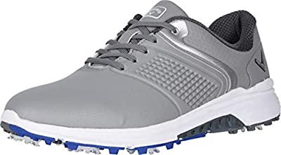 Callaway Men's Solana TRX Golf Shoe, Grey, 12
