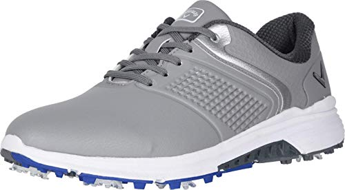 Callaway Men's Solana TRX Golf Shoe, Grey, 11.5
