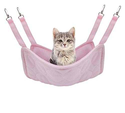 Idefair Amaca per animali domestici Letto di raffreddamento per gatti, Tappetino per gatti con doppio uso per gatto Gattino