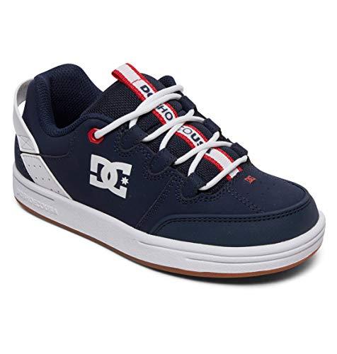 DC Shoes Syntax - Leather Shoes for Kids - Schuhe - Jungen - EU 33 - Blau