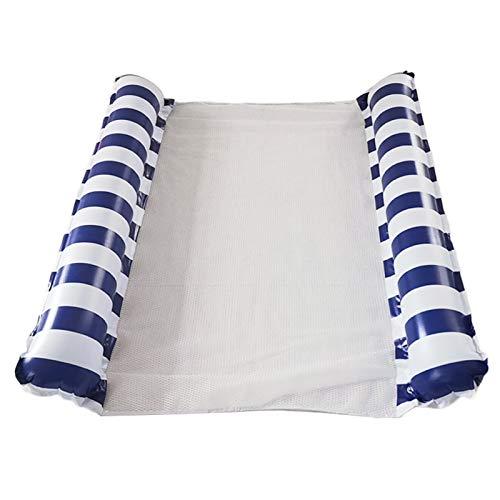 chebao Inflatable Floating,Water Hammock, Swimming Pool Inflatable Floating Bed Floating Chair, Water Sofa,, Inflatable Hammock, Swimming Pool 1-2 Person Floats Water Hammock Lounger