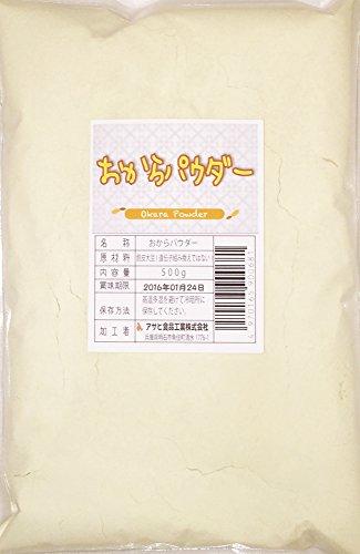 こなやの底力 豆乳工場の おからパウダー 500g×18袋