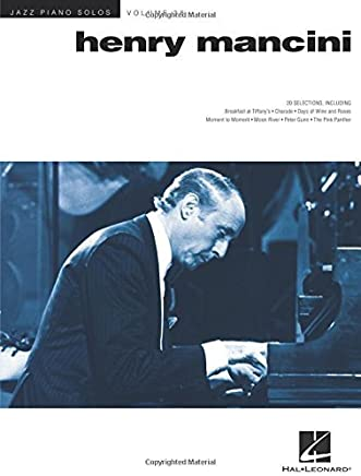 Henry Mancini: Jazz Piano Solos Series Volume 38 by Brent Edstrom(2015-12-01)