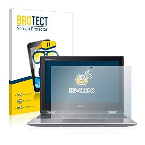 BROTECT Schutzfolie kompatibel mit Acer Chromebook Spin 11 CP311 (2 Stück) klare Bildschirmschutz-Folie