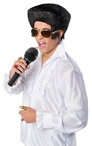 Creative Elvis Style Fancy Dress Perruque
