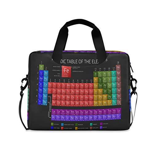 ALARGE - Funda para ordenador portátil (15 a 16 pulgadas, con asa de correa), color negro