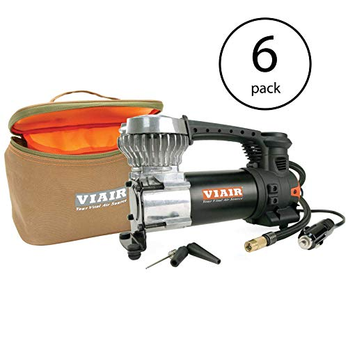 Check Out This VIAIR 85P Portable 12V, 60 PSI Air Compressor Kit up to 31 Inch Tires (6 Pack)