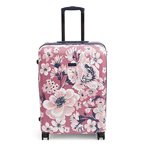 Vera Bradley Women's 26' Hardside Rolling Suitcase Luggage