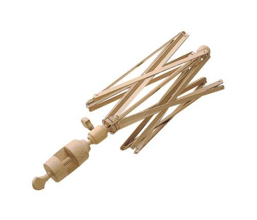 Panetta Casalinghi Tisch Holz Wolle Winder, beige