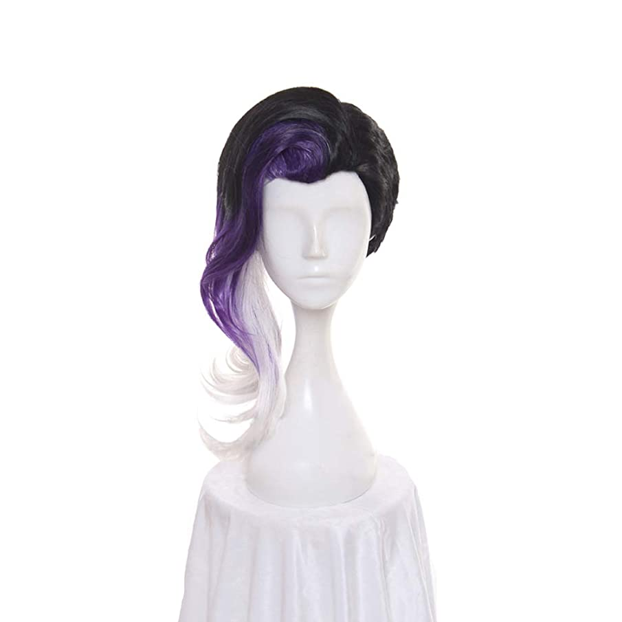Women's Long Wavy Cosplay Wig Halloween Wig for Game